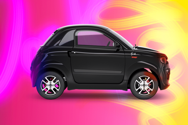 Microcar Dué Young Dark & Light, Per tutte le tue fughe urbane!